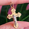 Небольшой золотой крестик - Крестик из золота на крещение, фото 3