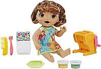 Лялька Hasbro Baby Alive брюнетка і форми закуски для немовляти (B07MKRSH8J)