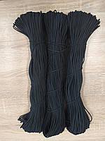 Резинка круглая из полиэфира черная 3,0 мм 100 м, фото 1