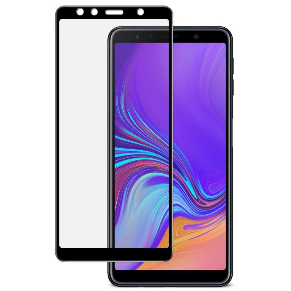 3D Защитное стекло Samsung A750 Galaxy A7 2018(На Весь Экран)black