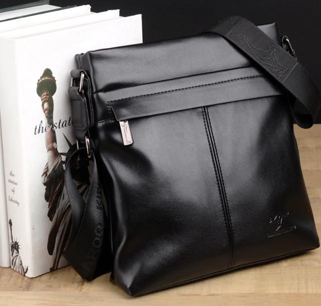 Мужская кожаная сумка. Модель 61290