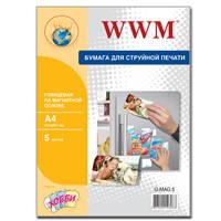 Фотобумага WWM Magnetic глянцевая 650г/м2 A4 5л (G.MAG.5)