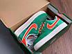 Кроссовки Nike зеленого цвета замшевые, фото 2