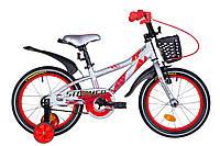 """Велосипед Velotrade 16"""" Formula STORMER 2020 (серебристо-красный) OPS-FRK-16-132"""