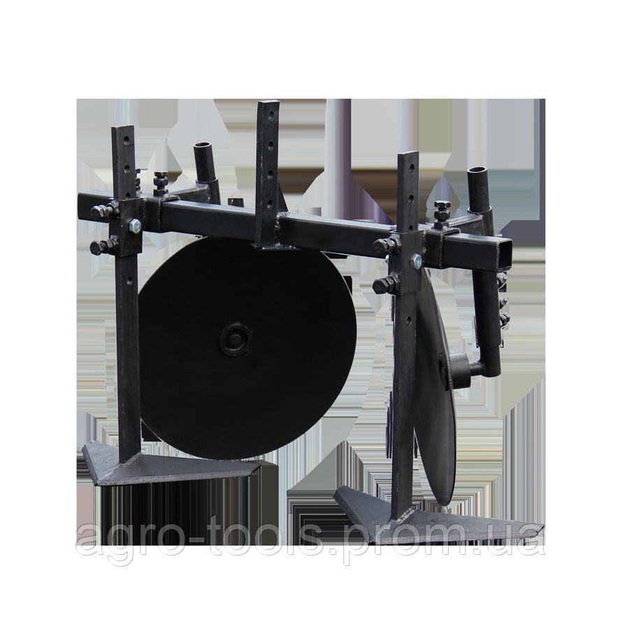 Окучник-пропольник d=360 мм (эконом)(ПД9) | Підгортач-пропольник Ø360 (економ)