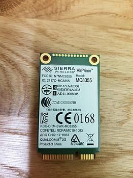 3g модуль для ноутбука Sierra MC8355 Lenovo edge s430 l420 l430 l520 l530 t420 t420i t420s t420si t430 и др