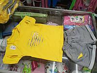 Летний детский костюм для девочки Рванка топик и  шорты р.92 - 116
