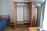 Шафа для одягу стиль лофт з ясена, фото 2