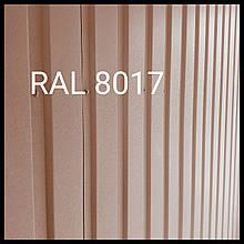 Профнастил ПР-20 а | ПСМ профиль | Арселор Митл МАТ | Ral 8017 | 0.5 мм|