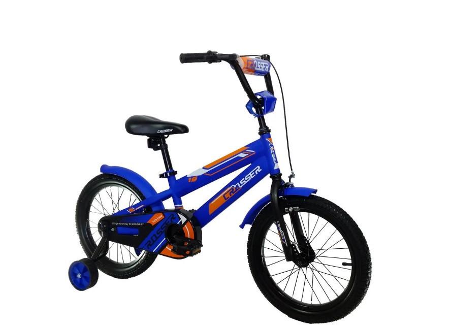 """Детский велосипед Crosser  JK-711 16"""" синий"""