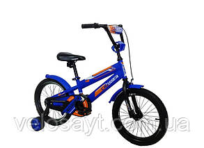 """Детский велосипед Crosser  JK-711 16"""" синий, фото 2"""