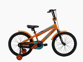 """Детский велосипед Crosser  JK-711 16"""" синий, фото 3"""