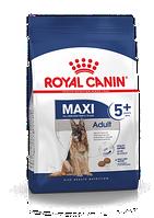 Корм Royal Canin Adult Maxi 5+ для зерлых собак крупных пород весом до 44 кг 15 кг