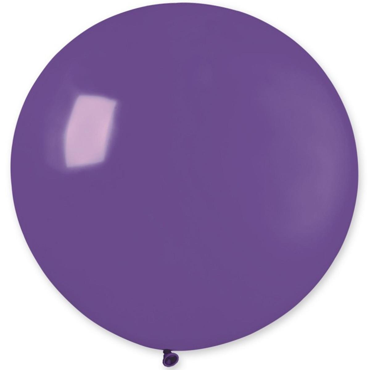 """Латексна кулька пастель фіолетовий 18"""" / 08 / 46см Purple"""