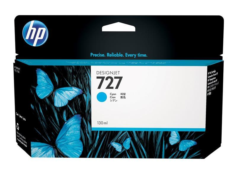 Картридж HP №727 DJ T1500/T920 (B3P19A) Cyan