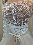 Платье свадебное. Размер 46, фото 2