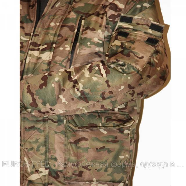 Армейский костюм зимний, теплый камуфляж Мультикам