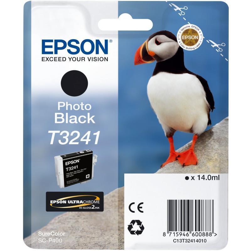 Картридж EPSON (T3241) Epson SureColor SC-P400 (C13T32414010) Photo Black
