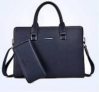 Мужская кожаная сумка. Модель 61292, фото 7