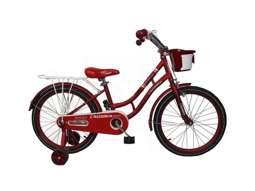 """Дитячий велосипед Crosser Eternal 18"""" червоний"""