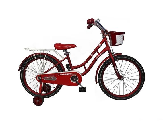 """Дитячий велосипед Crosser Eternal 18"""" червоний, фото 2"""
