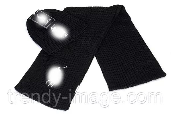Разные цвета в стиле Ральф поло шапка + шарф вязаные для взрослых и подростков хлопок ралф
