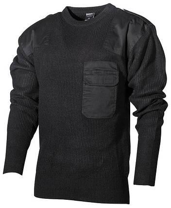Акриловый свитер BW MFH Black 05601A, фото 2