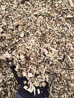 Мульчування грунту деревною тріскою