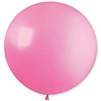 """Латексна кулька пастель рожевий 31""""/ 06 GEMAR"""