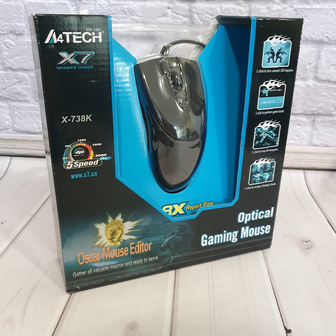 Мышь A4Tech X7-738K