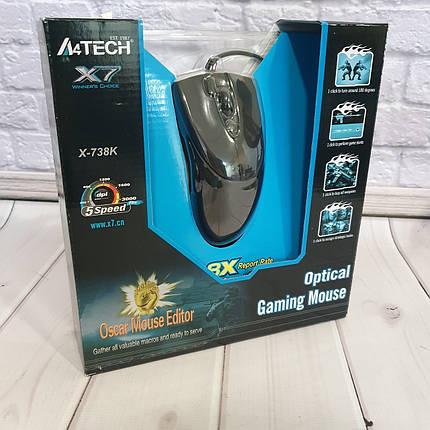 Мышь A4Tech X7-738K, фото 2