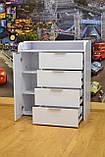 Пеленальный комод 4+1 Slim Белый, фото 3