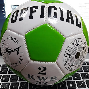 Детский футбольный мяч маленький