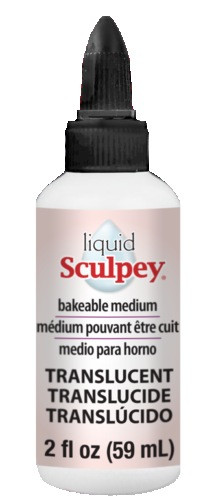 Рідка полімерна глина Sculpey Translucent Liquid напівпрозора 59 мл ALSB02, 50090002