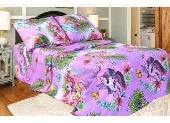 Стильное постельное белье полуторное Поні
