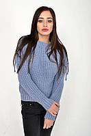 Свитер женский 103R052-312 цвет Серо-голубой