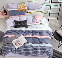 Комплект постельного белья Евро - Люблю своє життя