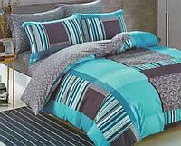 Комплект постельного белья Евро - Нефрит