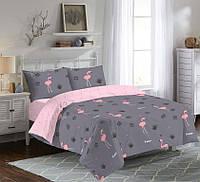 Постельное белья семейка, Фламинго