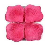 Лепестки роз 1000 шт, розовый цвет, арт. SRP-003