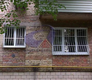Решетка на окно выпуклая, луковица Шир.2000*Выс.1500мм