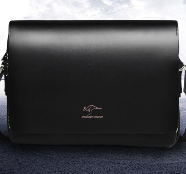 Мужская кожаная сумка. Модель 61294