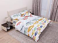 Комплект постельного белья семейка, зонтики