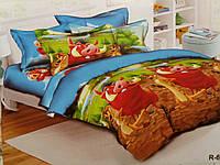 Красивое детское постельное белье полуторка, тимон и пумба