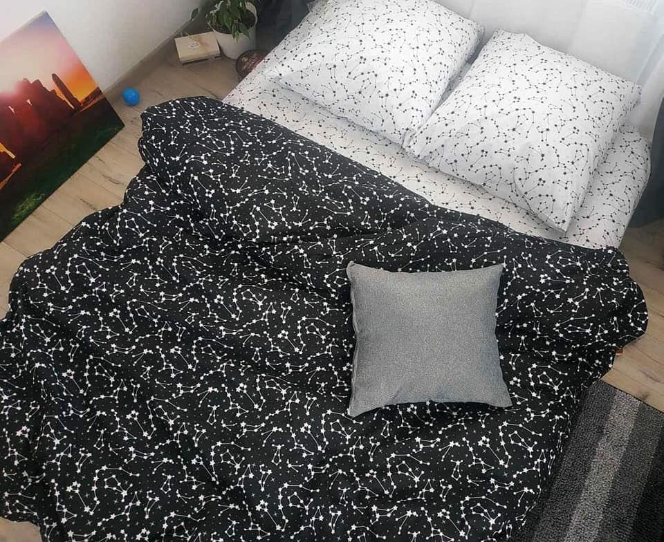 Стильное постельное белье полуторка, зодиак