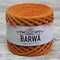 Трикотажная пряжа BARWA light 5-7 мм, Абрикосовый джем