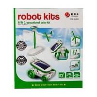 Конструктор Same Toy Робот-конструктор Солнцебот 6 в 1 на солнечной батарее (2011UT)