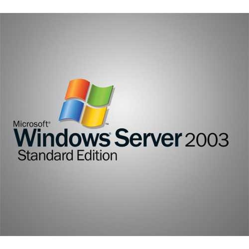 Microsoft Windows Server Std 2003 R2 1-4CPU 5Clt Russian OEM (P73-02761) поврежденная упаковка