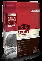 Корм Акана Эдалт Спорт Энд Эджилити Acana Adult Sport&Agility для активных собак 17 кг