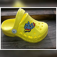 Детские шлепки по типу кроксы Vitaliya  Размеры: 30/31